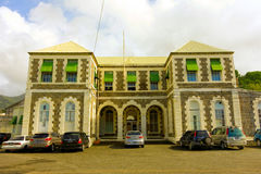 The courthouse of st. vincent and the grenadines Royalty Free Stock Photography