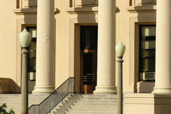 Courthouse Steps Royalty Free Stock Image