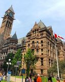The Courthouse in Toronto, Canada. A view of the exterior of the courthouse in Toronto, Canada Stock Photography