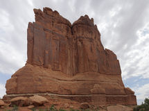 Courthouse Towers, Arches National Park Royalty Free Stock Images