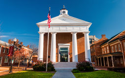 The Courthouse in Winchester, Virginia. Royalty Free Stock Images
