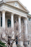 Courthouse in Winter Royalty Free Stock Photo