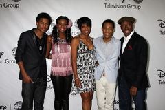 Courtney B. Vance, Dawnn Lewis, Tyler James,  Coco Jones, Trevor Jackson Stock Images