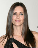 Courtney Cox imagem de stock