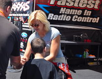 Courtney Force Royalty Free Stock Photo