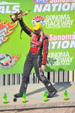 Courtney Force-Gewinne bei Sonoma Stockfoto