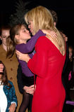 Courtney Love. Actress COURTNEY LOVE & daughter at the world premiere, at Universal City, of Dr. Seuss' How The Grinch Stole Christmas. 08NOV2000.   Paul Smith Royalty Free Stock Images