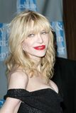Courtney Love at the L.A.Gay and Lesbian Center stock image