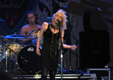 Courtney Love performs in Ottawa Royalty Free Stock Image