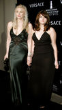 Courtney Love und Frances Bean Cobain Lizenzfreie Stockbilder