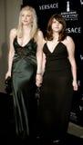 Courtney Love y Frances Bean Cobain Imágenes de archivo libres de regalías