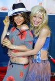Courtney Peldon en Ashley Peldon royalty-vrije stock fotografie