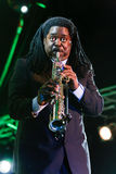 Courtney Pine, Jazz Koktebel Festival 2009 Stock Photos