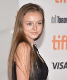 Courtney Shannon-Caines at the premiere of `Mother` Premiere at Toronto International Film Festival 2017. Actress Courtney Shannon-Caines at the premiere of ` stock photo