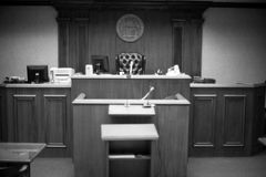 Courtroom Stock Photography
