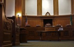 courtroom image stock