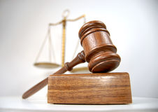 Courtroom detail Royalty Free Stock Photos