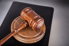 Courtroom. Gavel auction law justice legal system courthouse stock photo