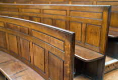 Courtroom Seating Stock Image