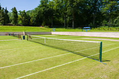 Courts de tennis Photographie stock