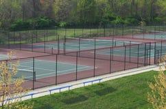 Courts de tennis ext?rieurs photo libre de droits