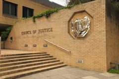 Courts of law. The Courts of Justice. Southampton. England Stock Image