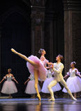The courtship-The Ballet  Nutcracker Royalty Free Stock Image
