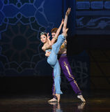 """Courtship- ballet """"One Thousand and One Nights"""" Stock Photo"""