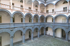 Courtyard of the �Alte Muenze� in Munich Royalty Free Stock Photography