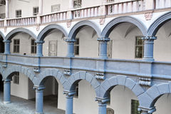 Courtyard of the �Alte Muenze� in Munich Stock Photo