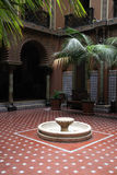 courtyard Royalty Free Stock Photo