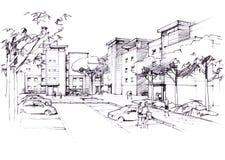courtyard Immagine Stock