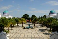 Courtyard of Al-Bukhari Mosque in Kedah Royalty Free Stock Photo
