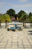 Courtyard of Al-Bukhari Mosque in Kedah Royalty Free Stock Images