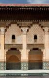 Courtyard of Ali Ben Youssef Madrasa. Marrakech, Morocco Stock Images
