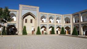 Courtyard of ancient madrasah. Uzbekistan. Khiva. Courtyard of ancient madrasah Uzbekistan Khiva stock video footage
