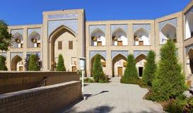 Courtyard of ancient madrasah. Uzbekistan. Khiva Royalty Free Stock Image