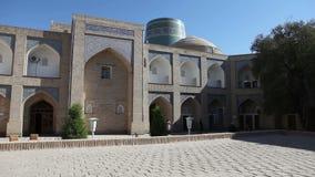 Courtyard of ancient madrasah. Uzbekistan. Khiva. Courtyard of ancient madrasah Uzbekistan Khiva stock video