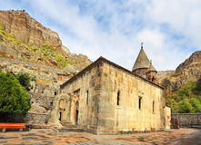 Courtyard of an ancient monastery Stock Image