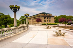 Courtyard And Buildings In The Capitol Complex, Harrisburg Stock Images