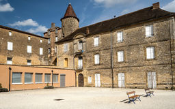 Courtyard of Aquitaine Stock Image