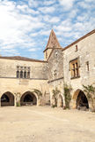 Courtyard of Aquitaine Stock Photography