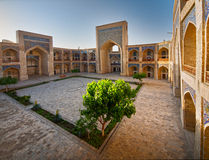 Courtyard of a Arabian madrasah Royalty Free Stock Photography