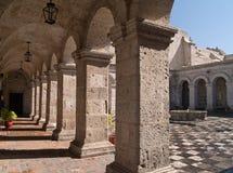 Courtyard at Arequipa, Peru Stock Photos