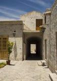 Courtyard in Arequipa, Peru. Stock Image