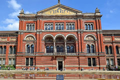 Courtyard At The Victoria And Albert Museum, London Royalty Free Stock Image