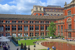 Courtyard At The Victoria And Albert Museum, London Royalty Free Stock Images