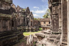Courtyard At Banteay Samre Stock Photos