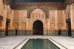 Ben Youssef medresa Royalty Free Stock Images