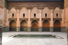 Ben Youssef medresa Royalty Free Stock Photos